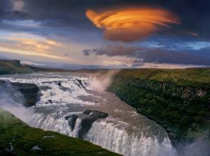 Gullfoss-Sunset-Iceland