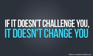 Challenge Changes